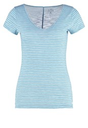Hollister Co. Musthave Print Tshirt Light Blue