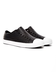 Native Shoes Jefferson Plimsoll Black