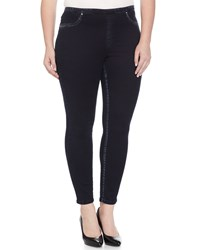 Marina Rinaldi Slim Leg Denim Leggings Women's Navy Blue