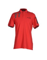 Helly Hansen Topwear Polo Shirts Men Red