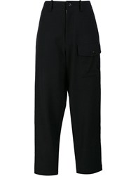 Y's 'Out Pocket' Trousers Black