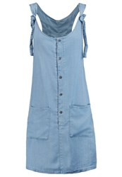 Noisy May Nmalex Summer Dress Light Blue Denim