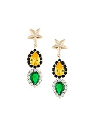 Iosselliani 'Anubian Jewels' Earrings Metallic
