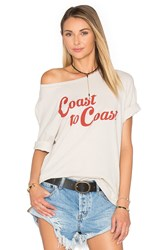 Project Social T Coast To Coast Tee Beige