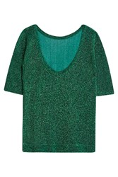 Missoni Green Lurex Top