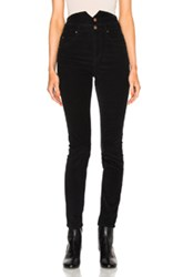 Etoile Isabel Marant Farley High Waisted Jeans In Black