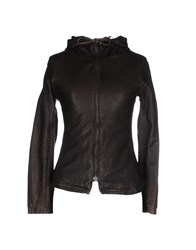 Le Cuir Perdu Coats And Jackets Jackets Women Dark Brown
