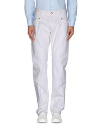 Daniele Alessandrini Homme Trousers Casual Trousers Men White