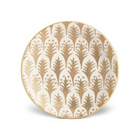L'objet Fortuny Gold Canape Plates Set Of 4