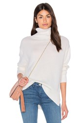 Enza Costa Loose Turtleneck Sweater Ivory