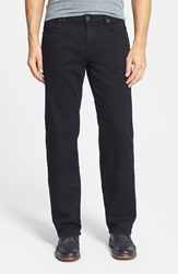 7 For All Mankind 'Austyn' Relaxed Straight Leg Jeans Nightshade Black