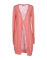 Just For You Cardigans Salmon Pink