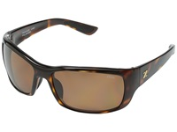 Zeal Optics Tracker Barreled Bourbon W Polarized Copper Lens Sport Sunglasses Brown