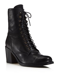 Belstaff Hindley Lace Up Booties Black