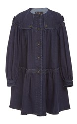 Rossella Jardini Trench Coat Navy