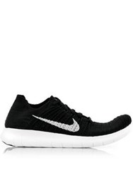 Nike Free Run Flyknit Running Shoes Black