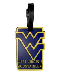 Aminco West Virginia Mountaineers Soft Bag Tag Team Color