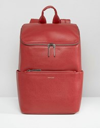 Matt And Nat Brave Backpack Bordeaux Red