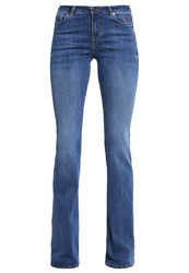 Esprit Bootcut Jeans Blue Medium Wash Blue Denim