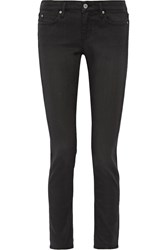 Mih Jeans Breathless Low Rise Skinny Jeans Black