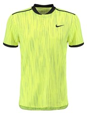 Nike Performance Premier Sports Shirt Volt Black Neon Yellow