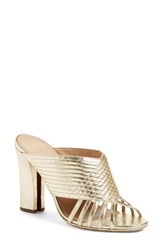 Tory Burch Women's 'Brida' Quilted Open Toe Mule