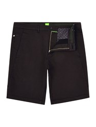 Hugo Boss Liem 2 2 W Slim Fit Satin Stretch Shorts Black