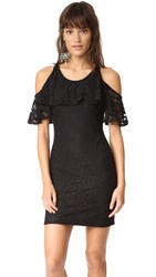 Ella Moss Trello Lace Dress Black