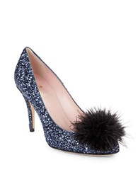 Kate Spade Dahlia Feather Accented Pumps