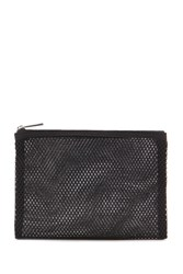 Forever 21 Mesh Makeup Pouch Black