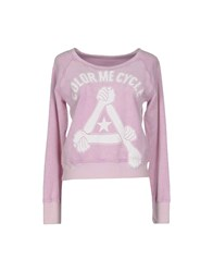 Cycle Topwear Sweatshirts Women Pink