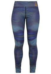 Bench Jess Glynne Real Real Love Leggings Navy Blue Multicoloured