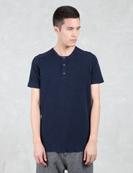 Wings Horns 1 X 1 Slub Rib S S Henley T Shirt