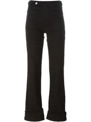 See By Chloe Bootcut Jeans Black