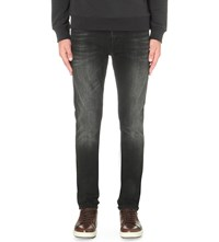 7 For All Mankind Ronnie Slim Fit Skinny Jeans American Shoreline Black