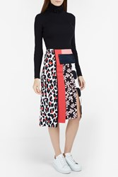Msgm Multi Panel Knee Length Skirt