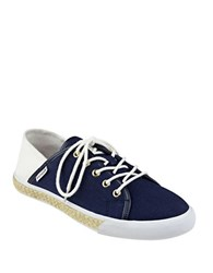 Tommy Hilfiger Flip 4 Tie Up Sneakers Blue