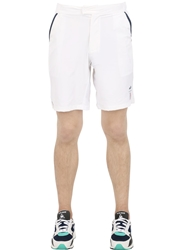 Le Coq Sportif Richard Gasquet Stretch Tennis Shorts White
