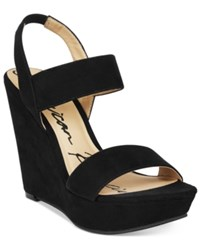 American Rag Audria Two Piece Platform Wedges Only At Macy's Women's Shoes Black