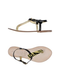 Mr And Mrs Yuo Thong Sandals Yellow