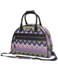 International Steve Madden Patchwork Dome Satchel Only At Macy's