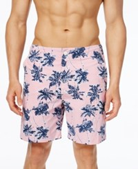 Tommy Hilfiger Men's Big And Tall Regal Palms Board Shorts Granita