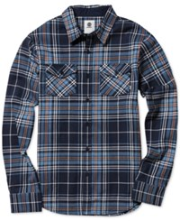 Element Men's Hawkins Plaid Shirt Eclipse