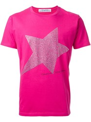 Education From Youngmachines Star Print T Shirt Pink And Purple
