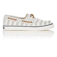 Sperry Women's Bahama Canvas Boat Shoes Grey