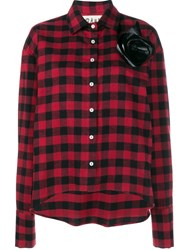 Awake Checked Shirt Red