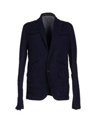 Fabio Di Nicola Denim Outerwear Dark Blue