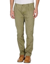 Pence Casual Pants Military Green