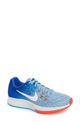 Nike Women's 'Air Zoom Structure 19' Running Shoe Bluecap White