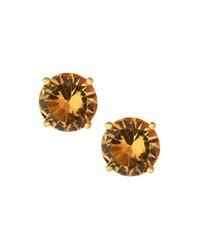 Emily And Ashley Greenbeads By Emily And Ashley Round Resin Stud Earrings Topaz